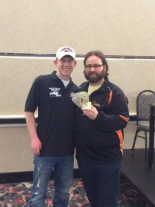 NDBowling.com Owner Daren Seney with Can-Am Champion Mike Schmidt