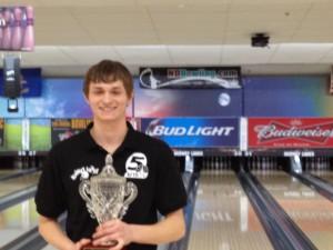 2014 KFYR TV Bowling Classic Champion - Ryan Sandvick